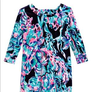 NWT Lilly Pulitzer Velour Girls Dress Size Medium